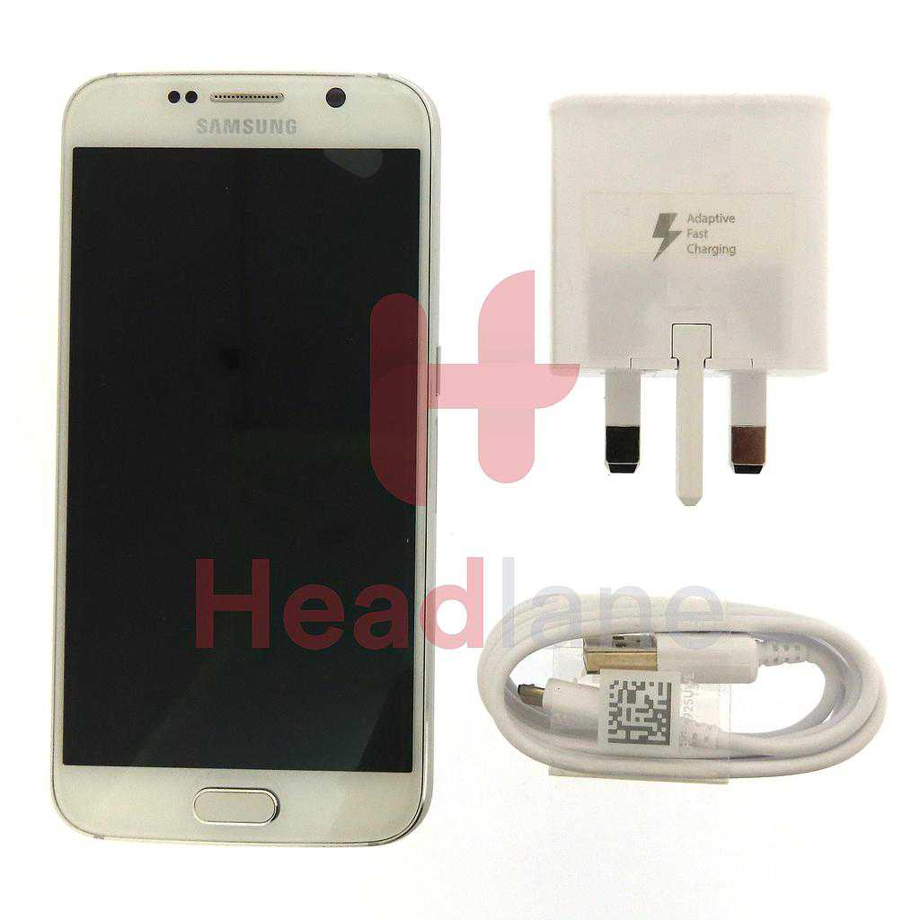 Samsung SM-G920 Galaxy S6 Demo Phone - White