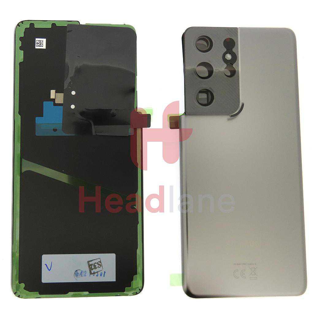 Samsung SM-G998 Galaxy S21 Ultra 5G Back / Battery Cover - Phantom Titanium
