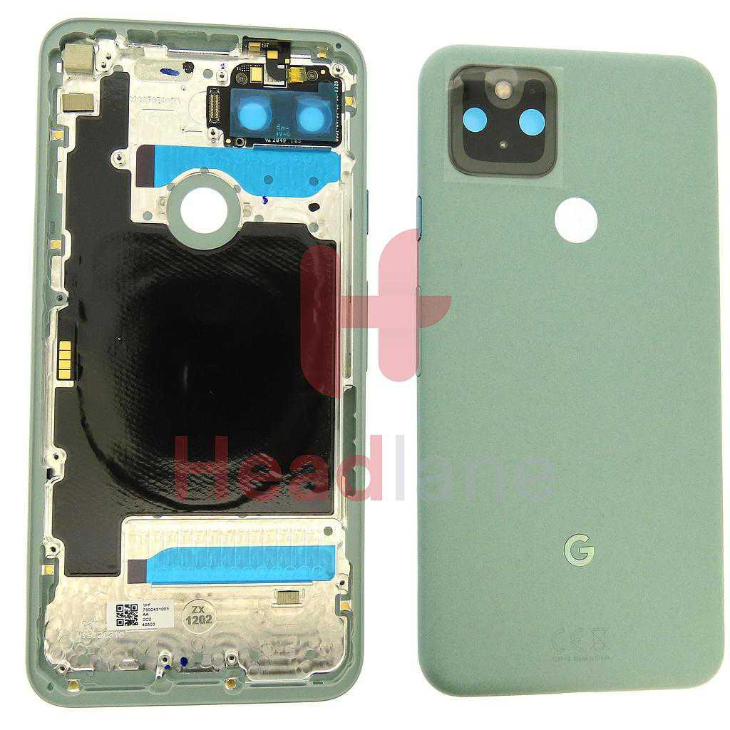 Google Pixel 5 Back / Battery Cover - Sorta Sage