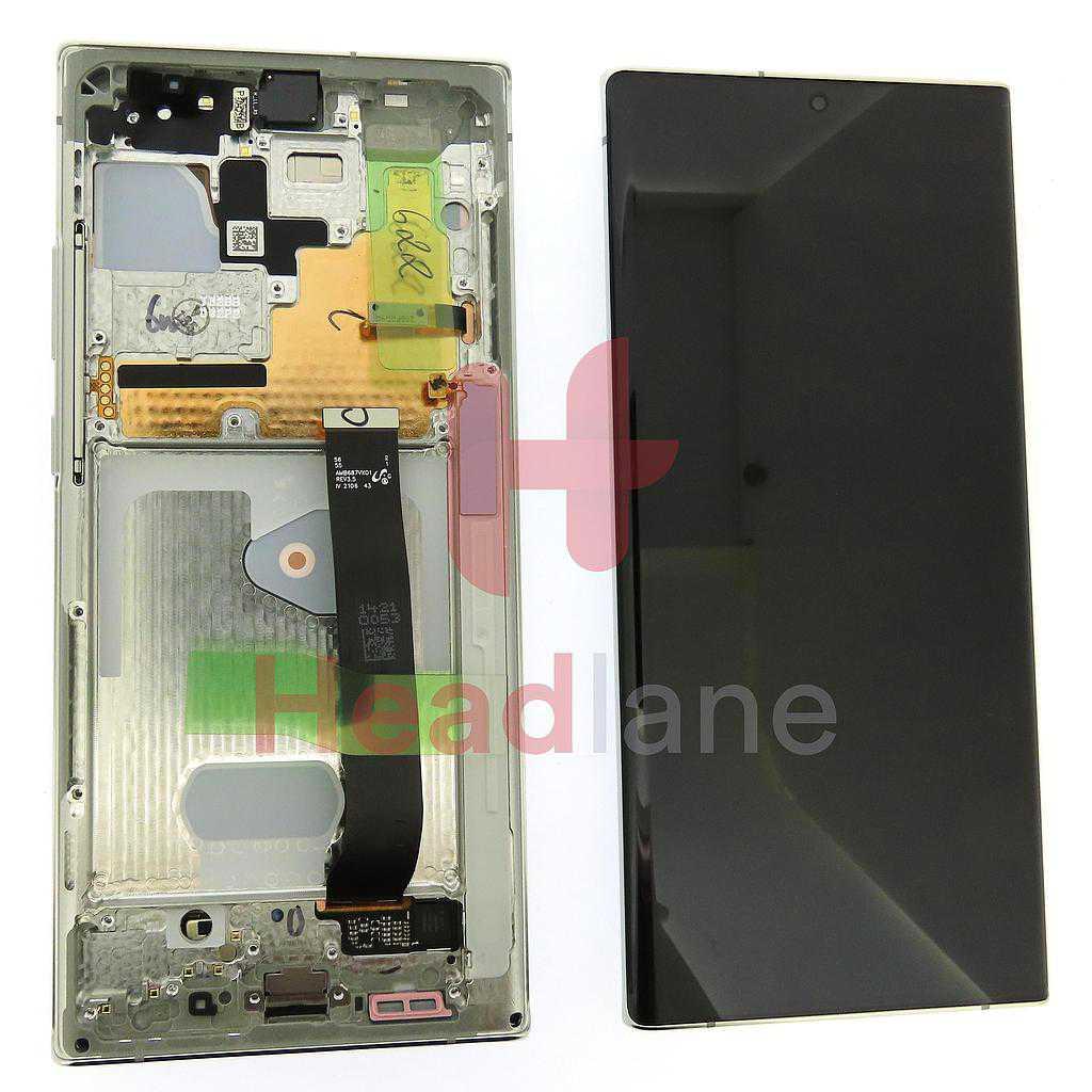 Samsung SM-N986 N985 Galaxy Note 20 Ultra 5G /4G LCD Display / Screen + Touch - White