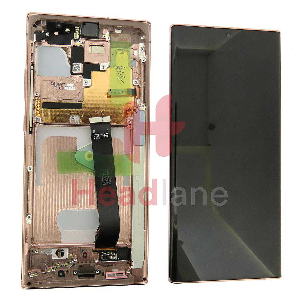 Samsung SM-N986 N985 Galaxy Note 20 Ultra 5G /4G LCD Display / Screen + Touch - Bronze