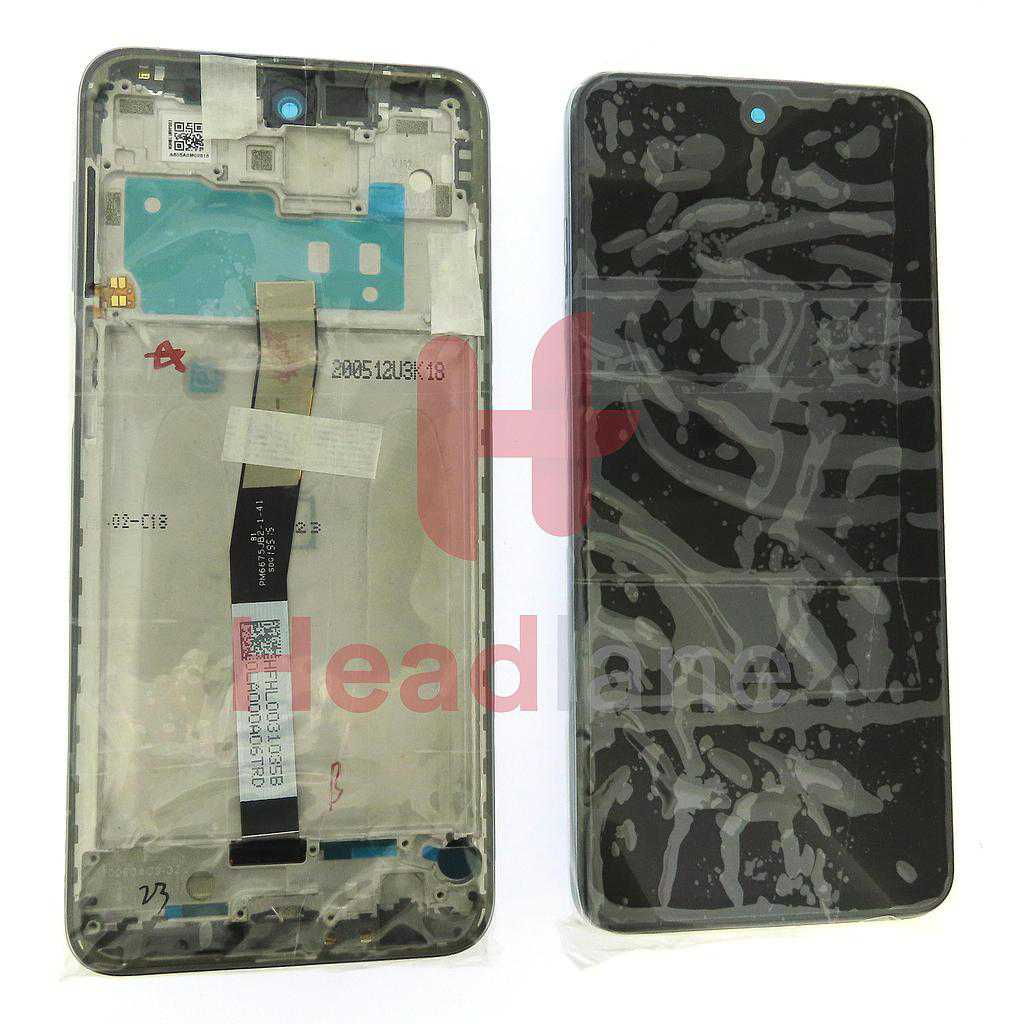 Xiaomi Redmi Note 9 Pro LCD Display / Screen + Touch - White