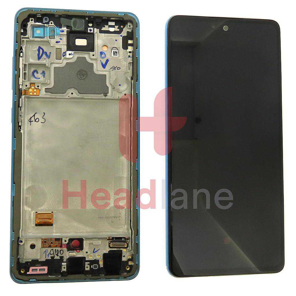 Samsung SM-A725 Galaxy A72 4G LCD Display / Screen + Touch - Blue