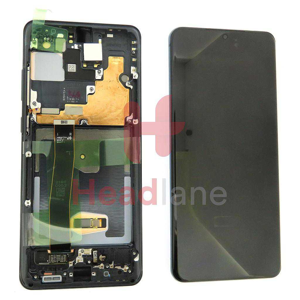 Samsung SM-G988 Galaxy S20 Ultra LCD Display / Screen + Touch - Black (No Camera)
