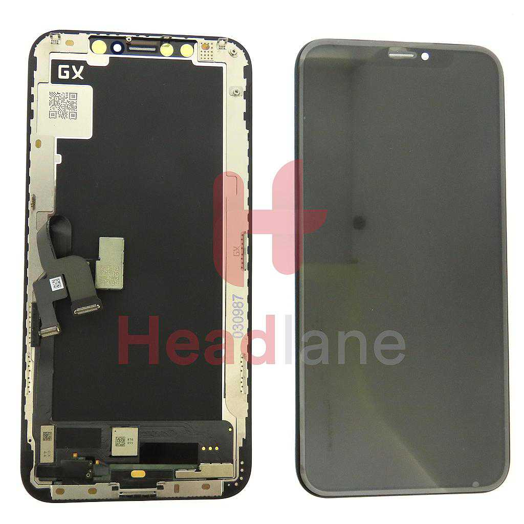 Apple iPhone XS Soft OLED Display / Screen (GX)