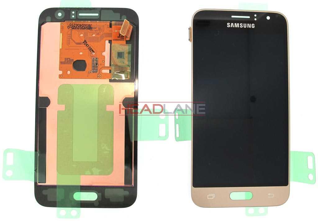 Samsung SM-J120 Galaxy J1 (2016) LCD Display / Screen + Touch - Gold