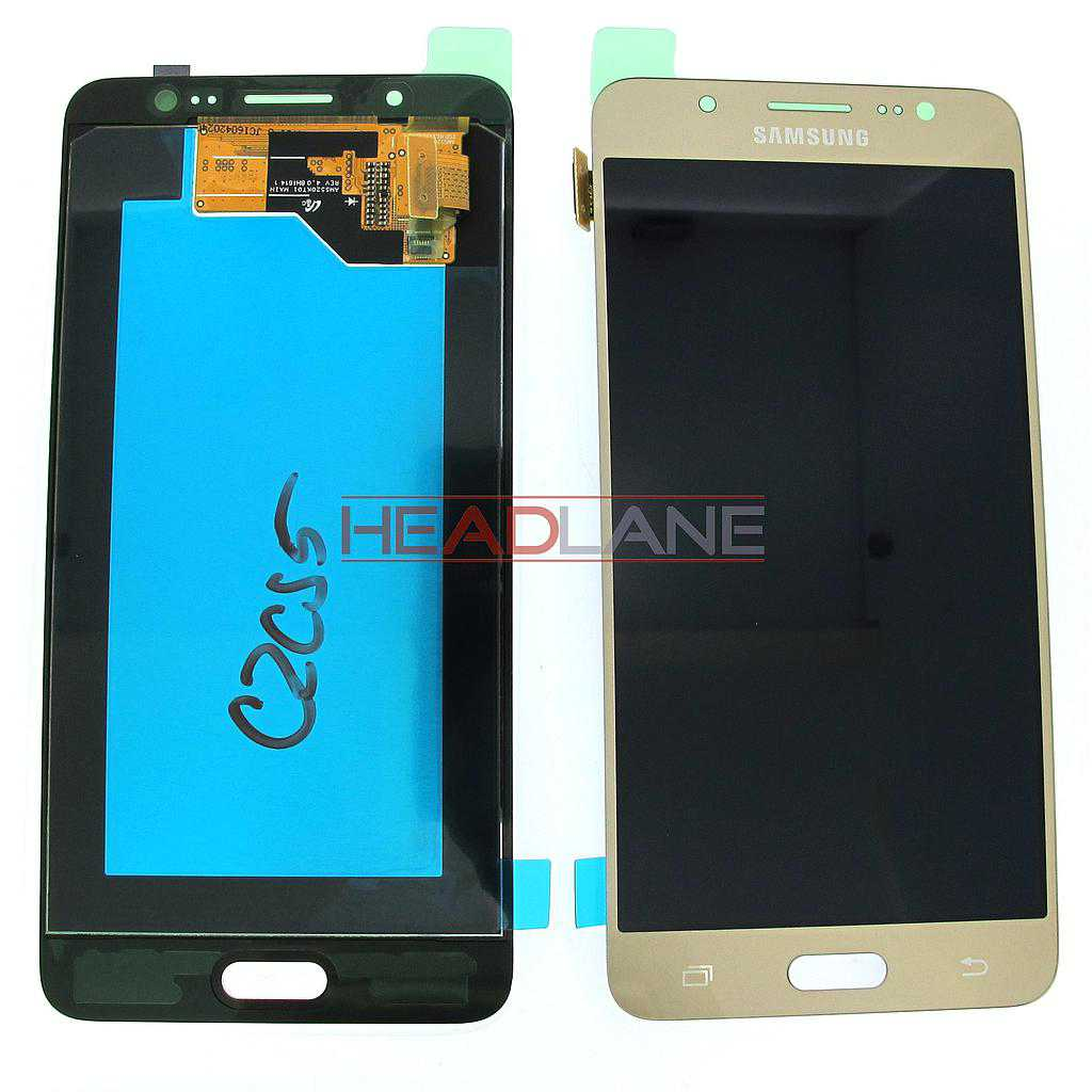 Samsung SM-J510 Galaxy J5 (2016) LCD Display / Screen + Touch - Gold