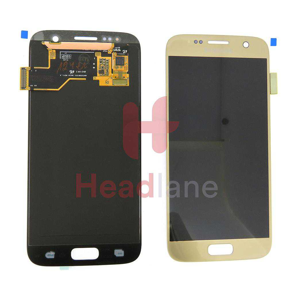 Samsung SM-G930F Galaxy S7 LCD Display / Screen + Touch - Gold