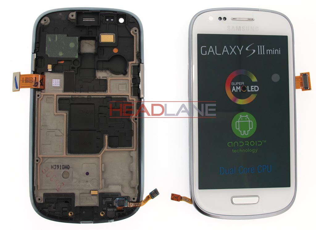 Samsung GT-I8190 Galaxy S3 Mini LCD Display / Screen + Touch - White