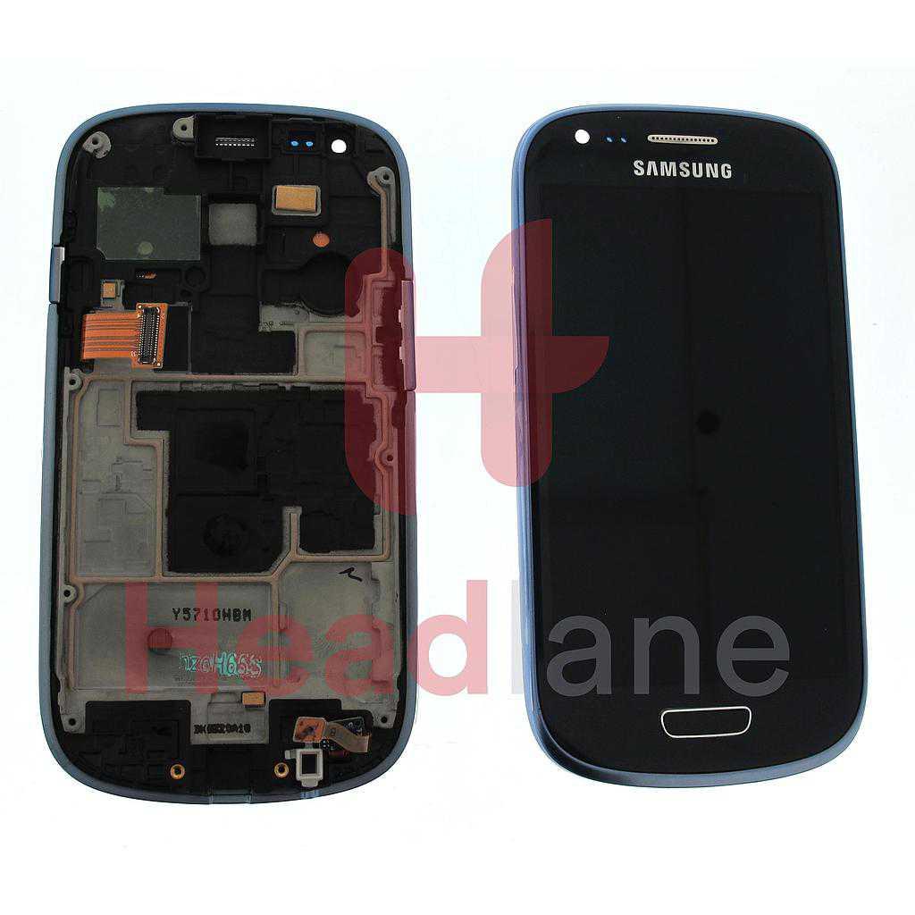 Samsung GT-I8200 Galaxy S3 Mini VE LCD Display / Screen + Touch - Blue