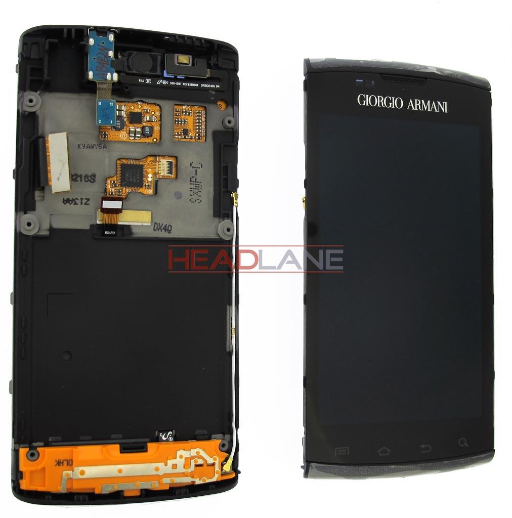 Samsung GT-I9010 Galaxy S Giorgio Armani LCD Display / Screen + Touch - Black