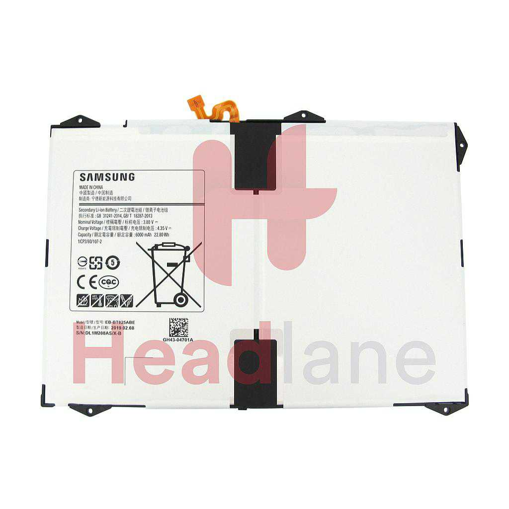 "Samsung SM-T820 T825 Galaxy Tab S3 9.7"" EB-BT825ABE Internal Battery"