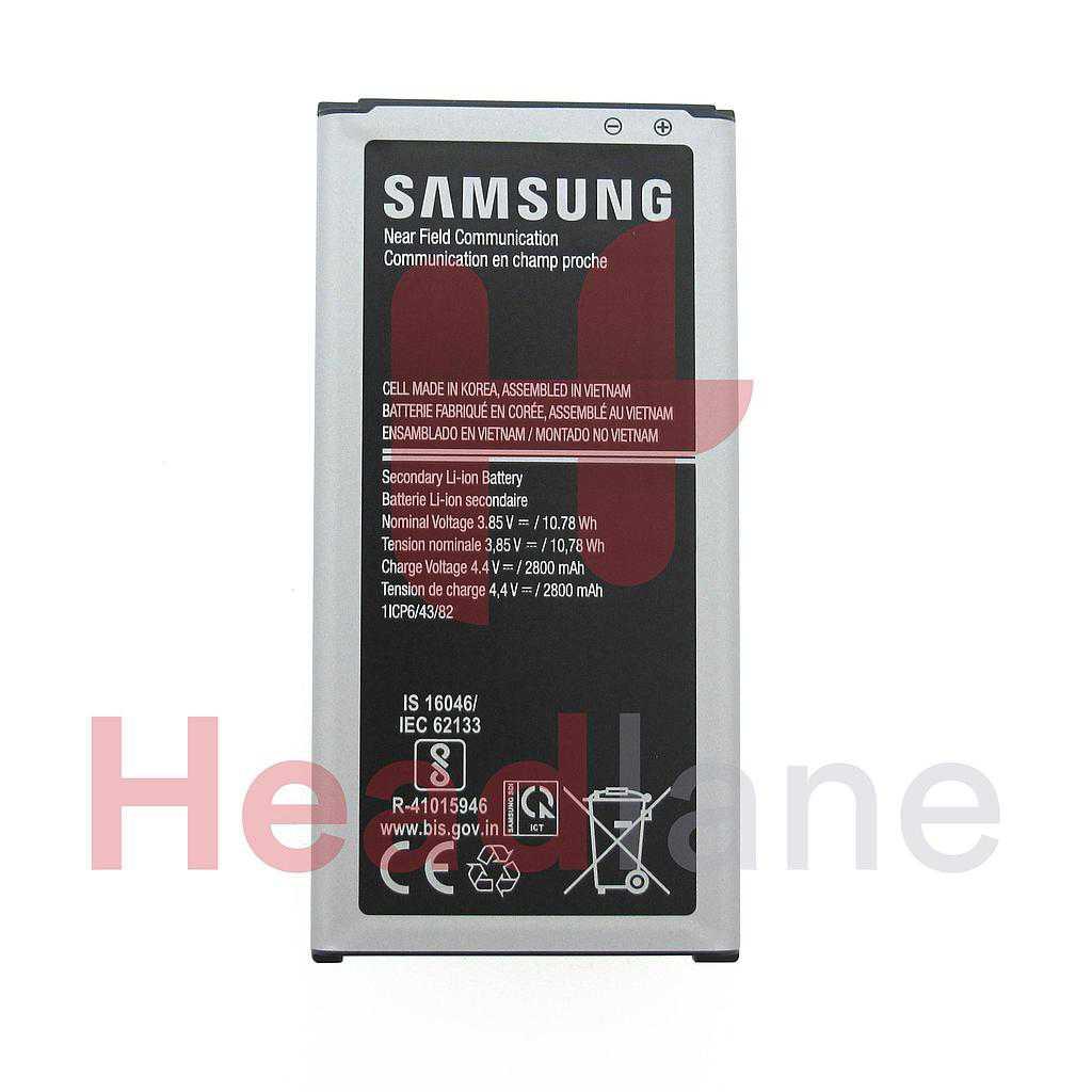 Samsung SM-G390 SM-G398 Galaxy Xcover 4 / 4S Internal Battery EB-BG390BBE 2800mAh