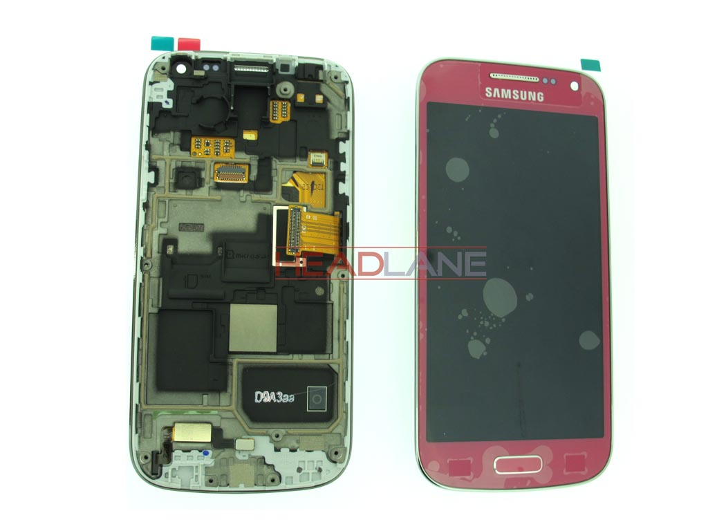 Samsung GT-I9195 Galaxy S4 Mini LTE LCD Display / Screen + Touch - Pink