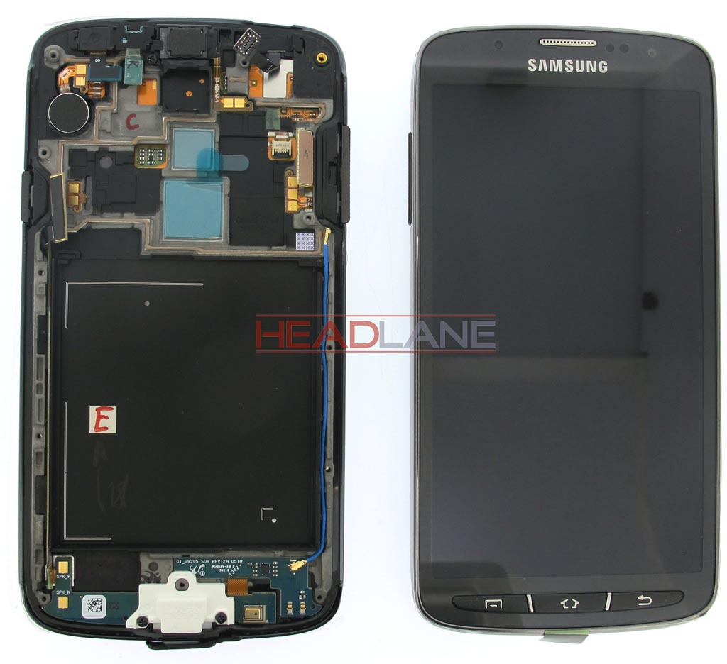 Samsung GT-I9295 Galaxy S4 Active LCD Display / Screen + Touch - Grey