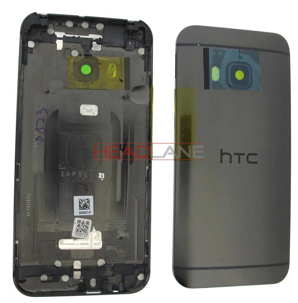 HTC One M9 Battery Cover - Metallic Grey
