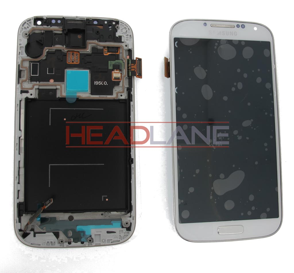 Samsung GT-I9500 Galaxy S4 LCD Display / Screen + Touch - White