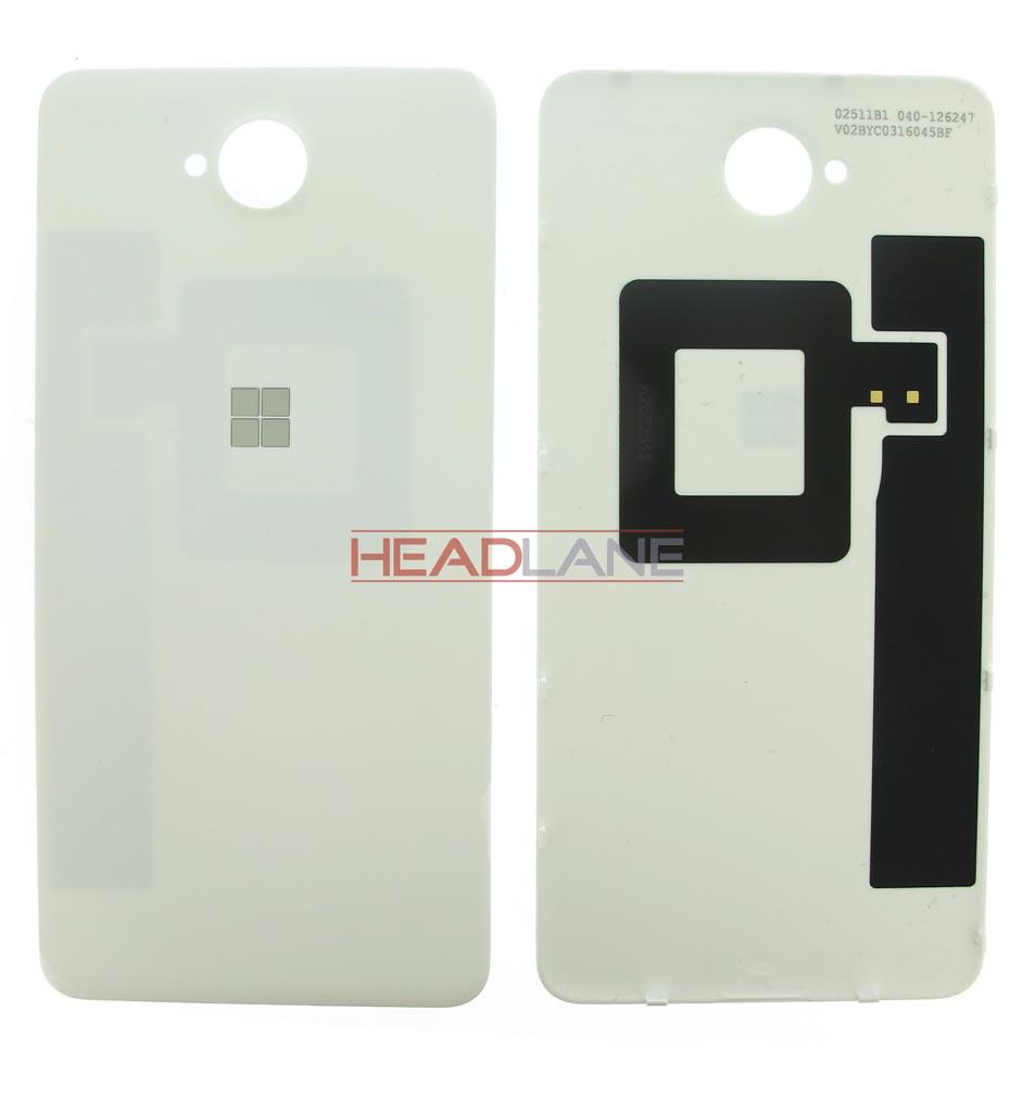 Microsoft Lumia 650 Battery Cover - White