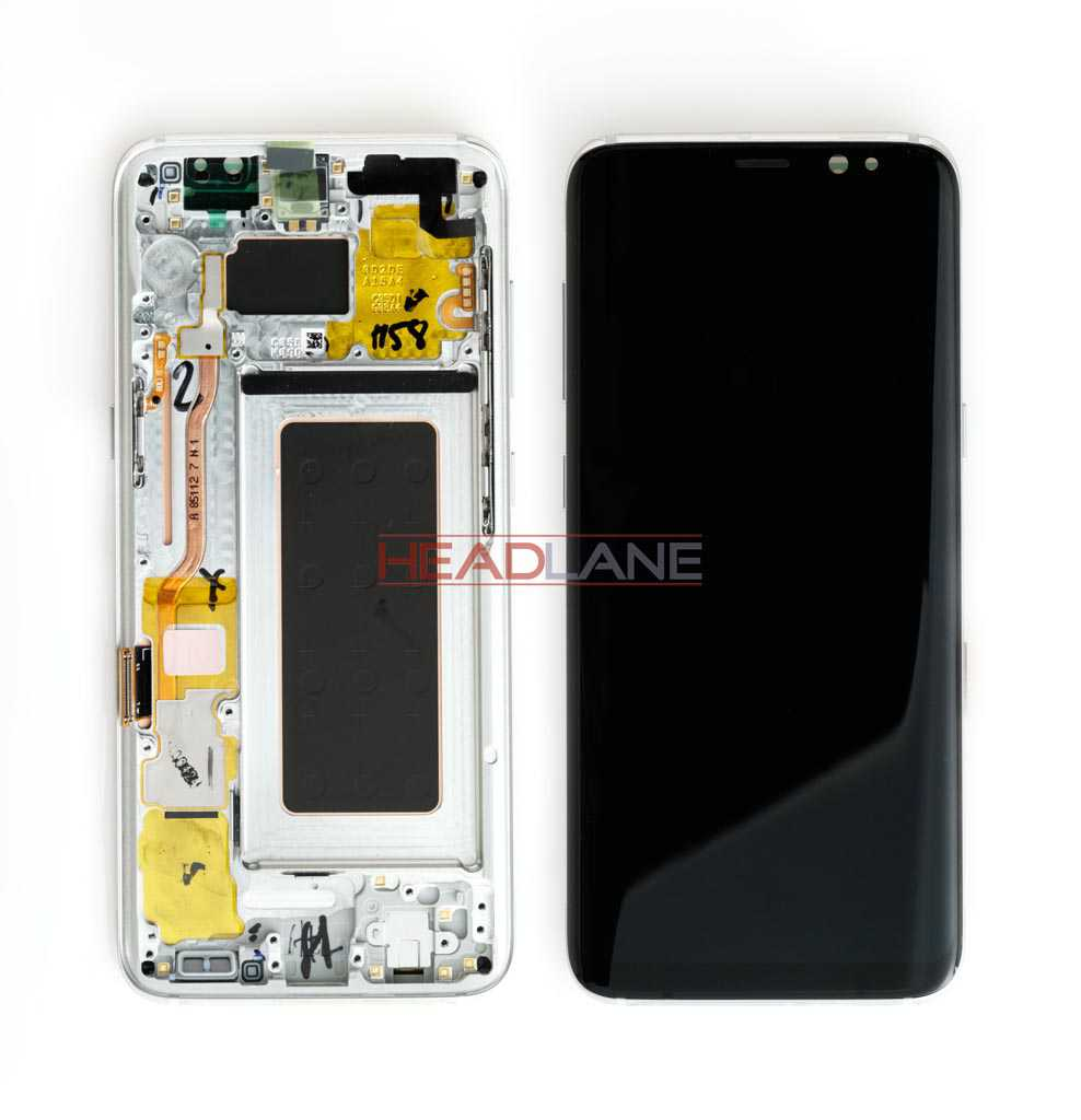 Samsung SM-G950 Galaxy S8 LCD Display / Screen + Touch - Silver