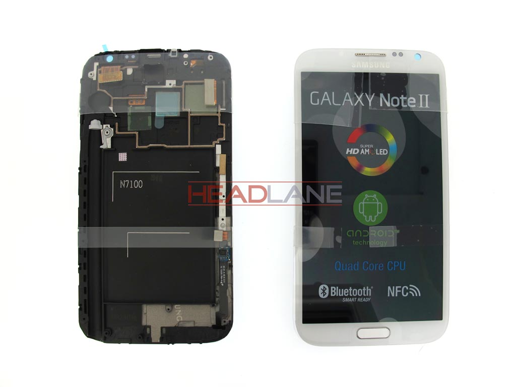 Samsung GT-N7100 Galaxy Note 2 LCD / Touch - White