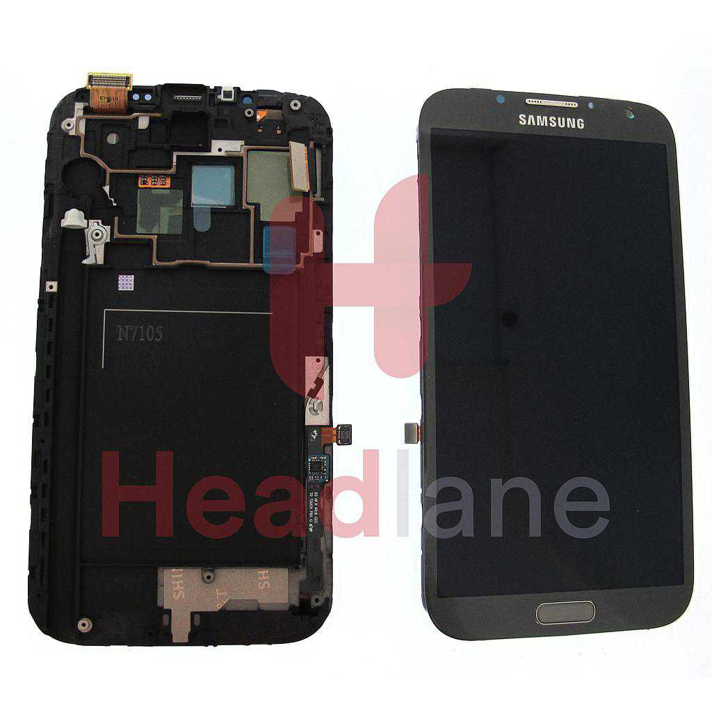 Samsung GT-N7105 Galaxy Note 2 LTE LCD / Touch - Grey