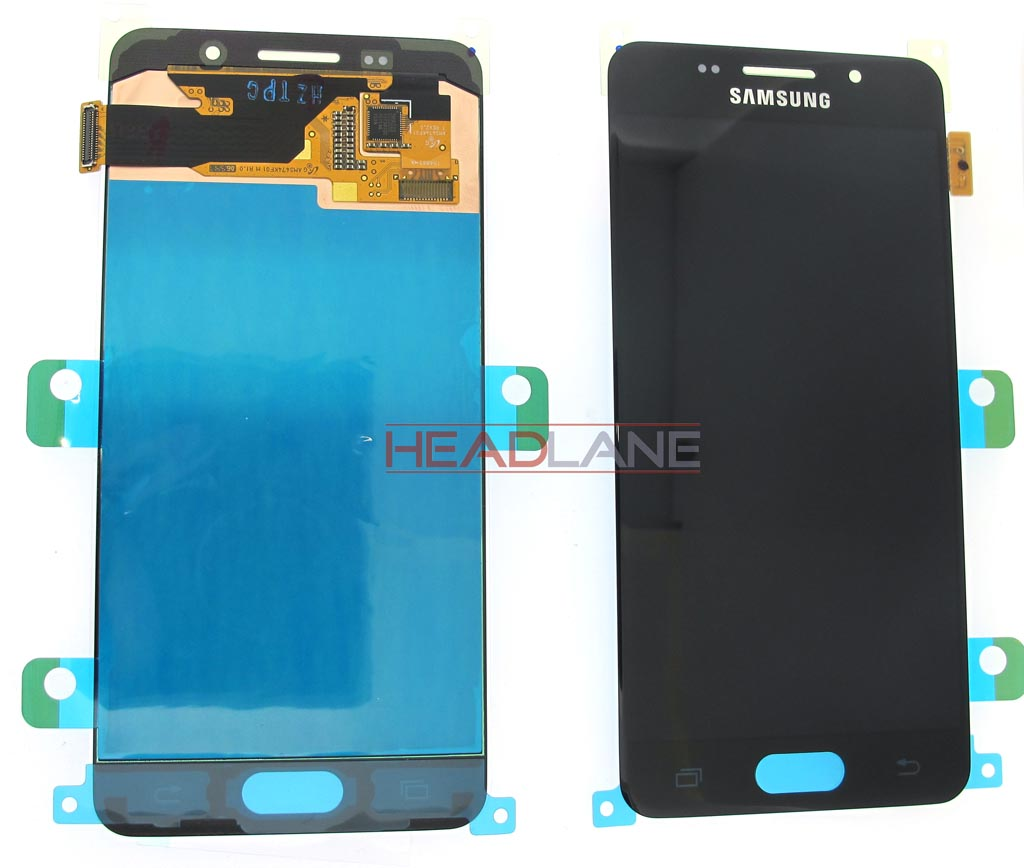 Samsung SM-A310 Galaxy A3 (2016) LCD Display / Screen + Touch - Black / Gold