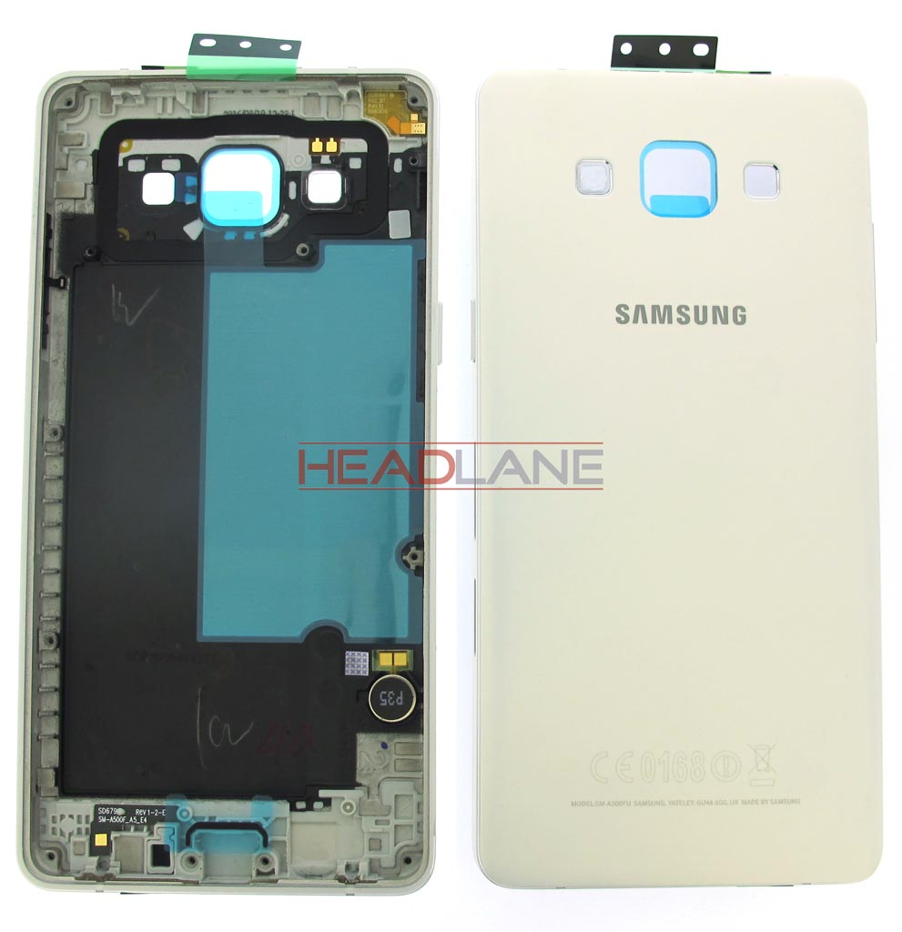 Samsung SM-A500 Galaxy A5 Middle Cover / Chassis - White