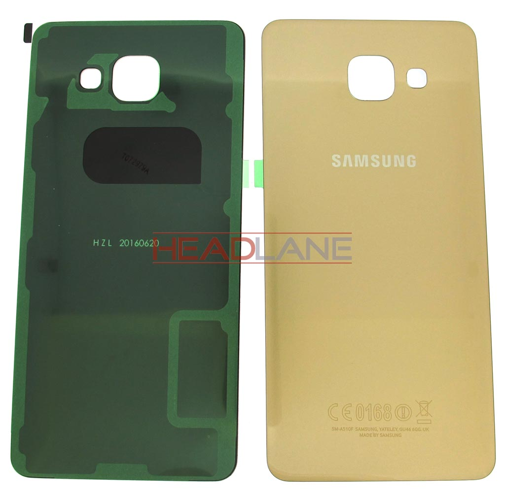 Samsung SM-A510 Galaxy A5 (2016) Battery Cover - Gold