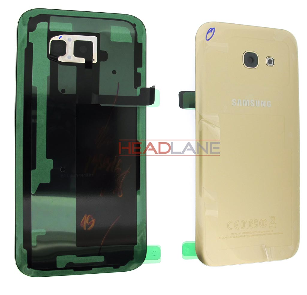 Samsung SM-A520 Galaxy A5 (2017) Battery Cover - Gold