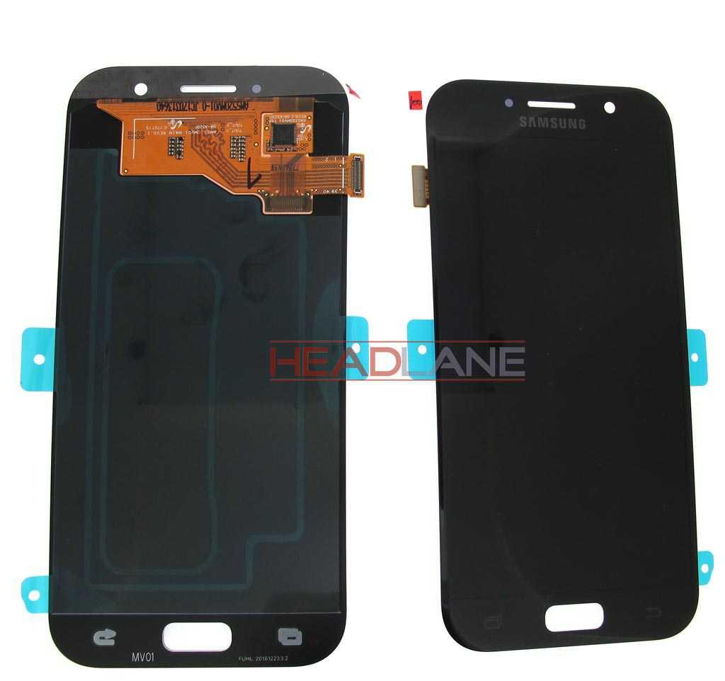 Samsung SM-A520 Galaxy A5 (2017) LCD Display / Screen + Touch - Black
