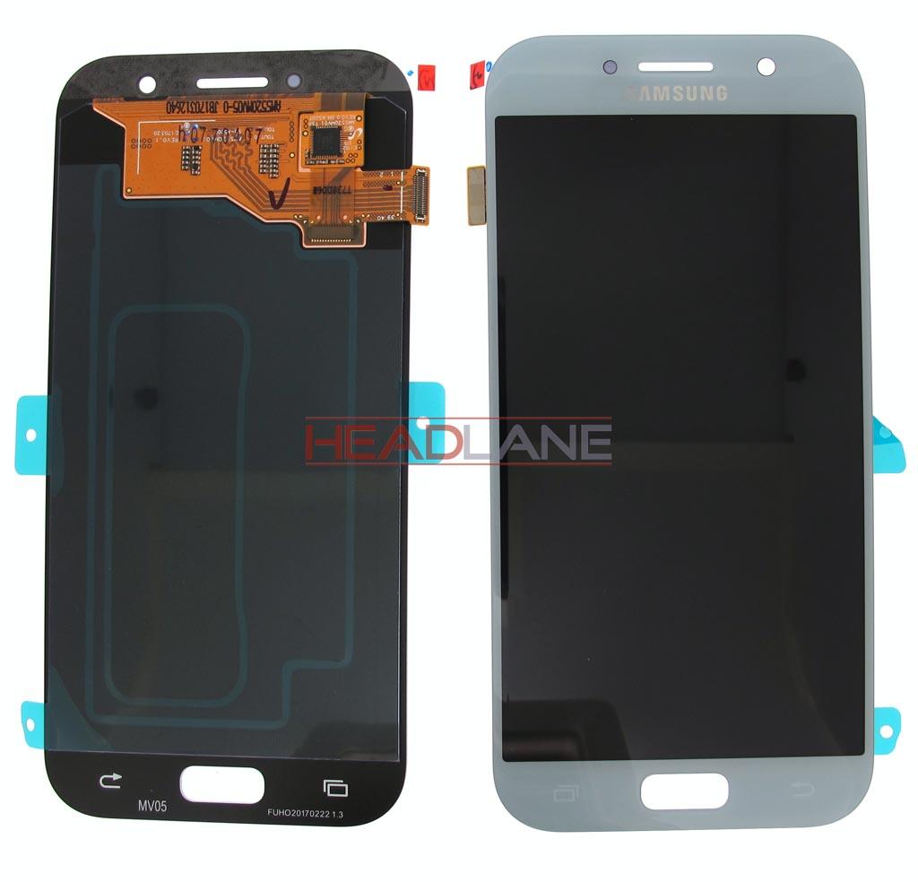 Samsung SM-A520 Galaxy A5 (2017) LCD Display / Screen + Touch - Blue