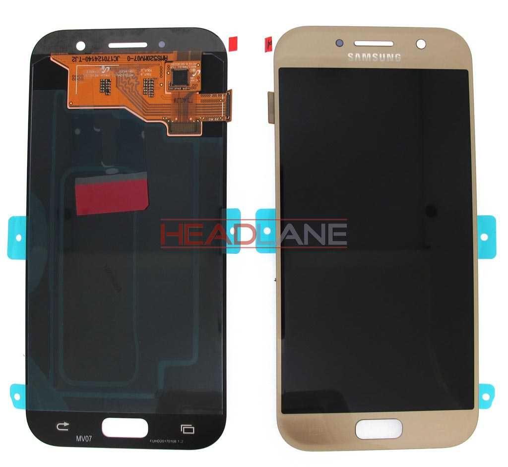 Samsung SM-A520 Galaxy A5 (2017) LCD Display / Screen + Touch - Gold