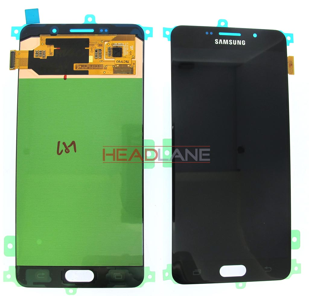 Samsung SM-A710 Galaxy A7 (2016) LCD Display / Screen + Touch - Black