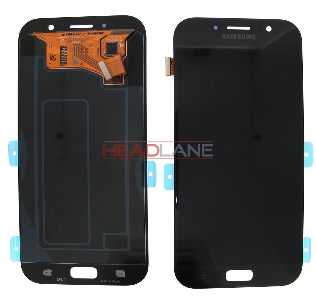 Samsung SM-A720 Galaxy A7 (2017) LCD Display / Screen + Touch - Black
