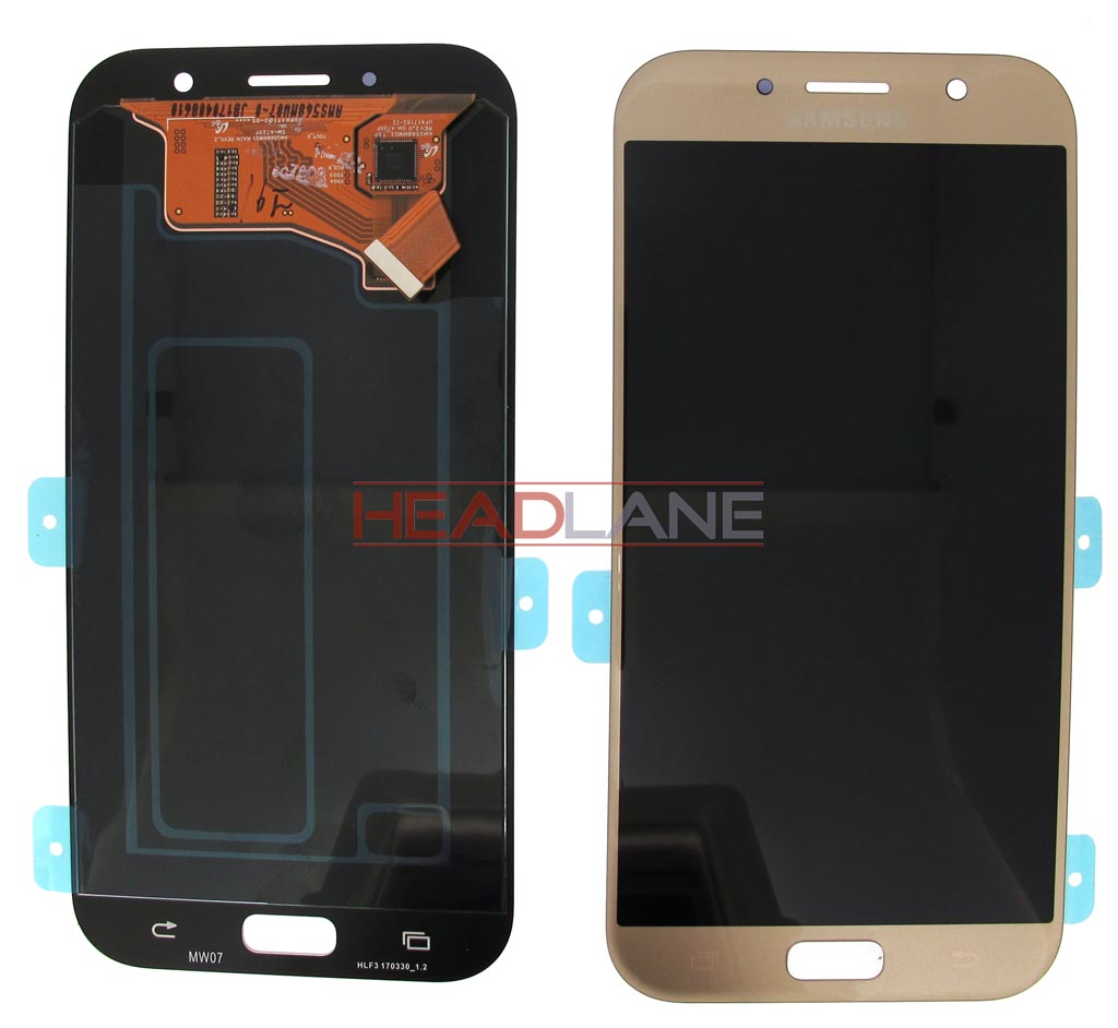 Samsung SM-A720 Galaxy A7 (2017) LCD Display / Screen + Touch - Gold