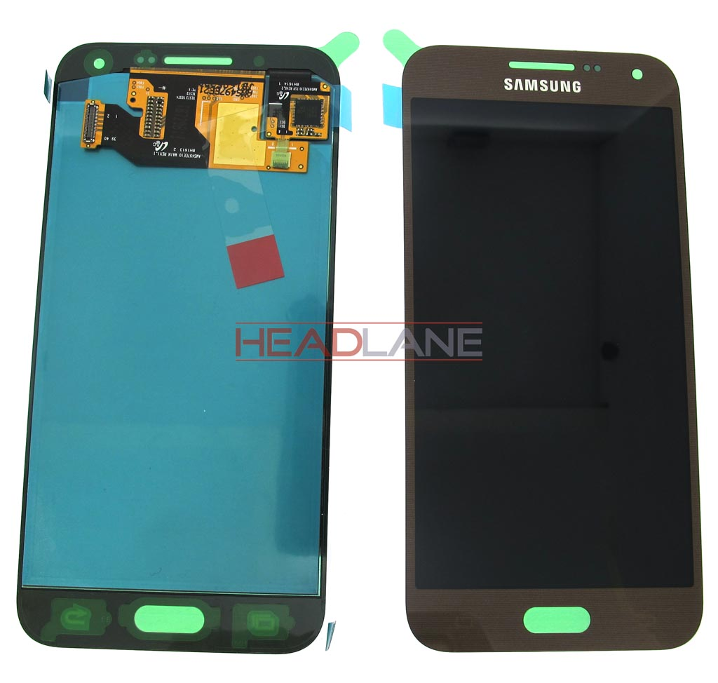 Samsung SM-E500 Galaxy E5 LCD Display / Screen + Touch - Brown / Gold