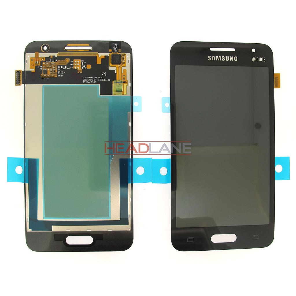 Samsung SM-G355 Galaxy Core II LCD Display / Screen + Touch - Black