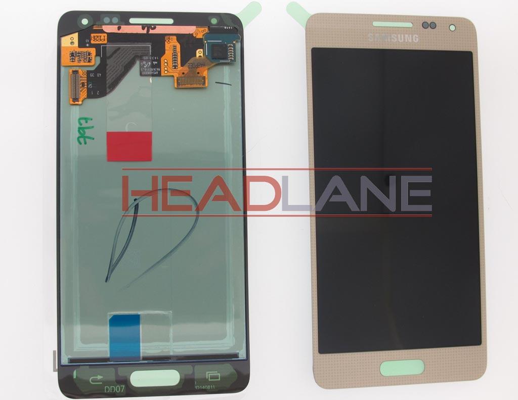 Samsung SM-G850 Galaxy Alpha LCD Display / Screen + Touch - Gold