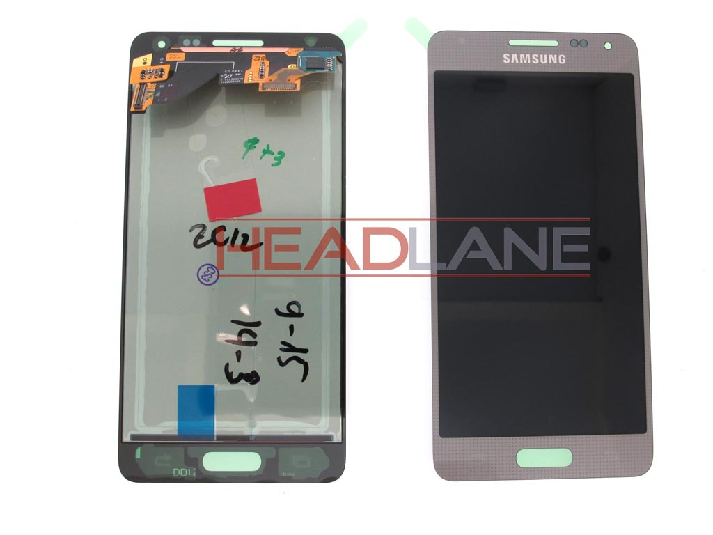 Samsung SM-G850 Galaxy Alpha LCD Display / Screen + Touch - Silver