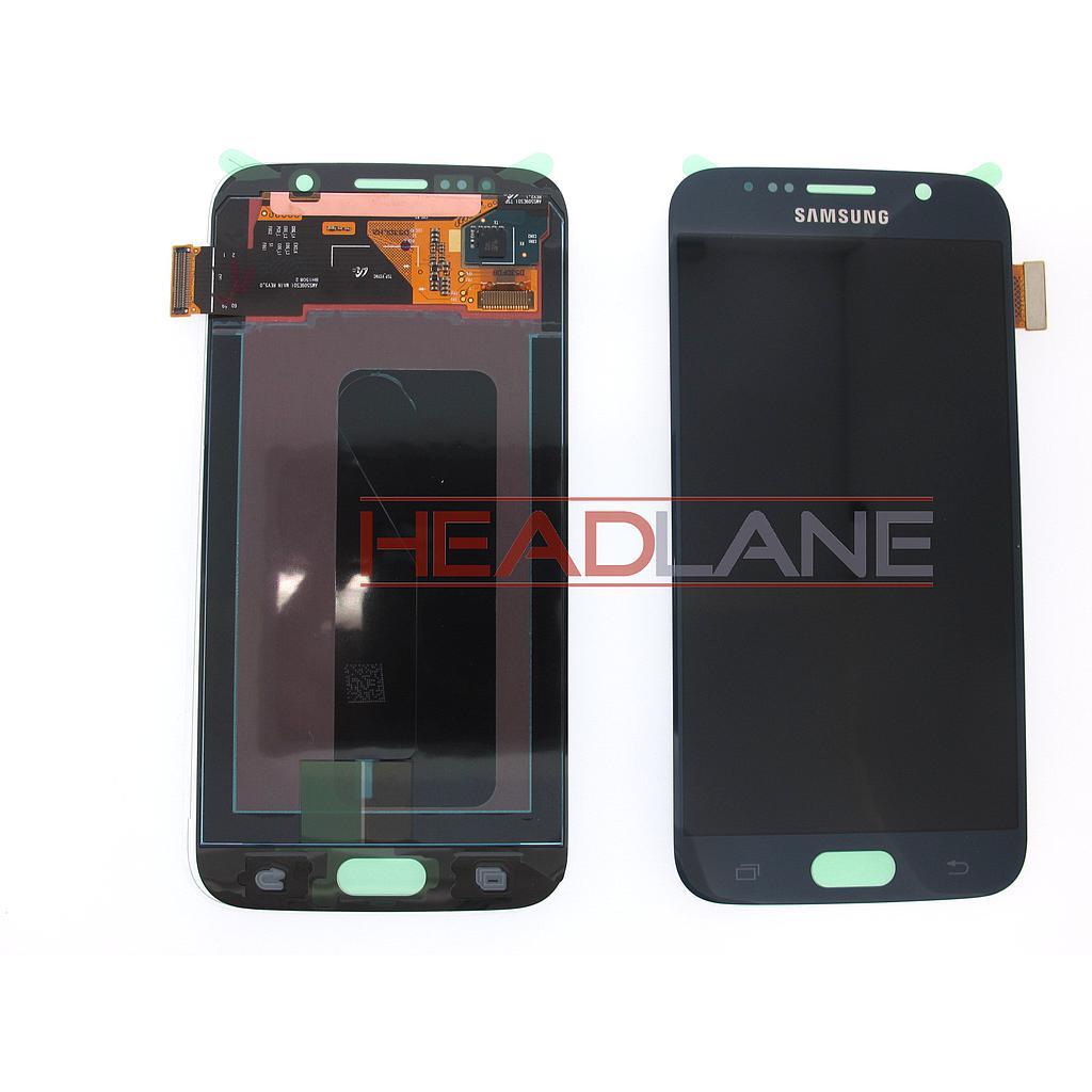 Samsung SM-G920F Galaxy S6 LCD Display / Screen + Touch - Black