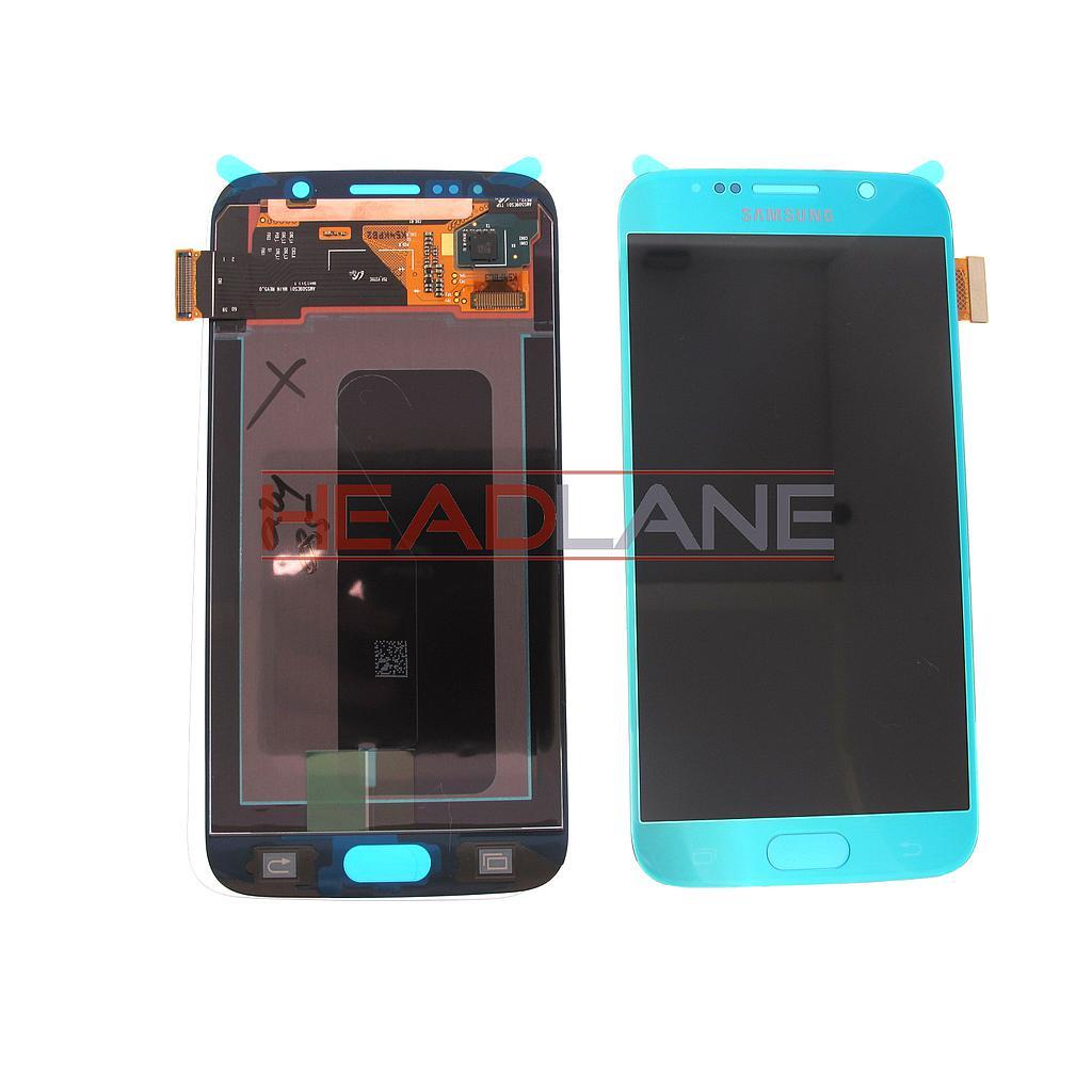 Samsung SM-G920F Galaxy S6 LCD Display / Screen + Touch - Blue