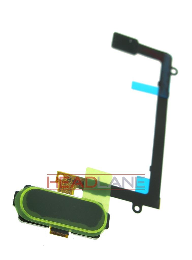Samsung SM-G925F Galaxy S6 Edge Home Key Flex - Green