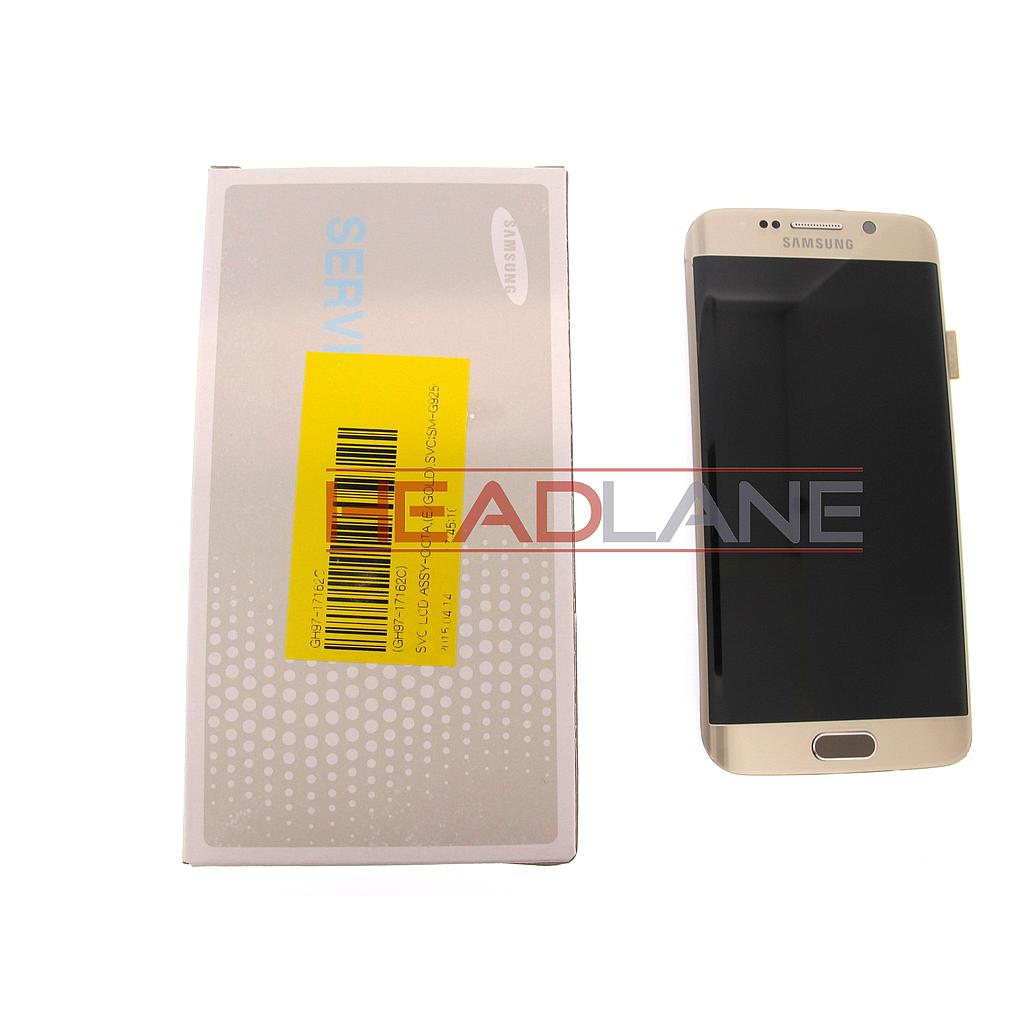 Samsung SM-G925F Galaxy S6 Edge LCD Display / Screen + Touch - Gold
