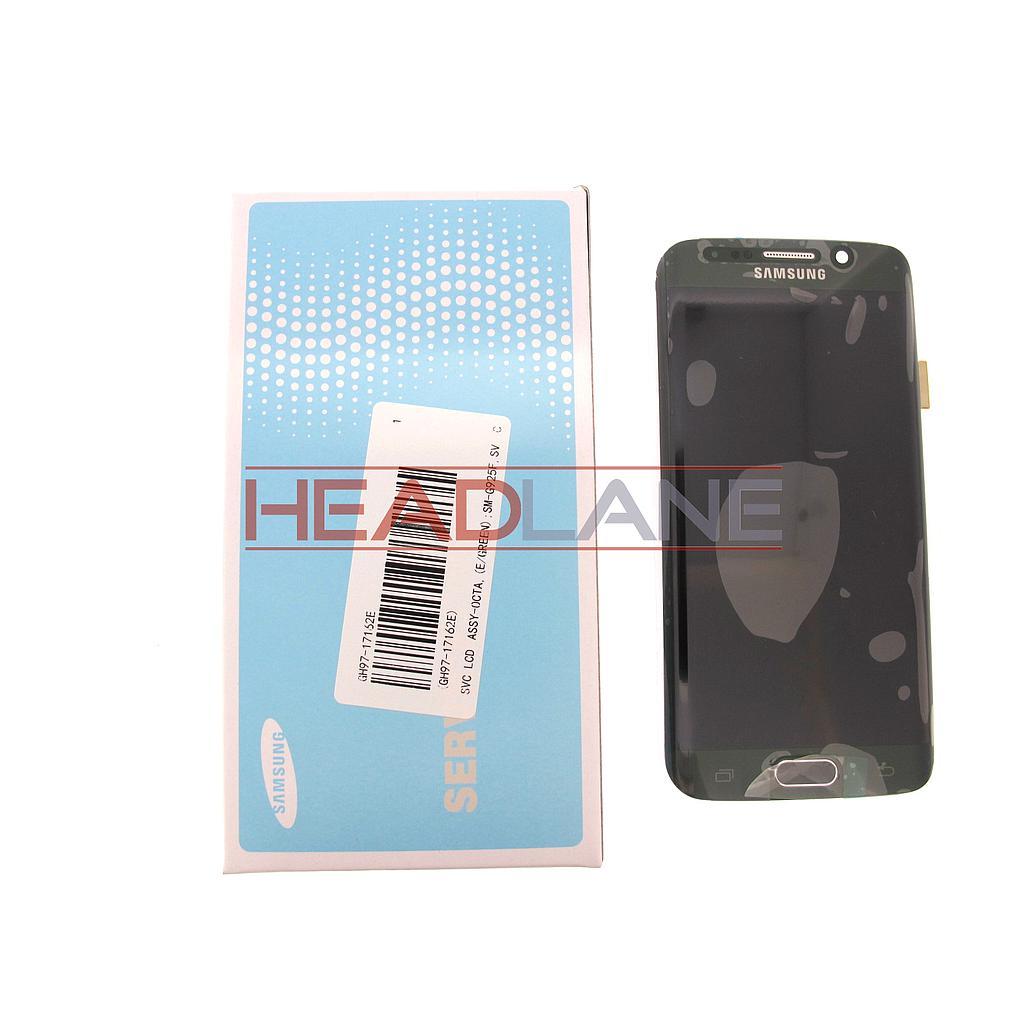 Samsung SM-G925F Galaxy S6 Edge LCD Display / Screen + Touch - Green