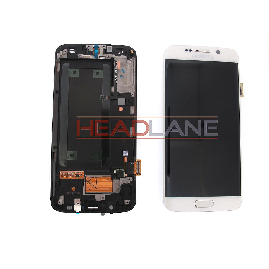 Samsung SM-G925F Galaxy S6 Edge LCD Display / Screen + Touch - White