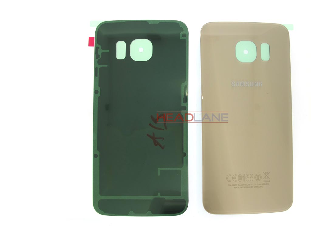 Samsung SM-G925 Galaxy S6 Edge Battery Cover - Gold