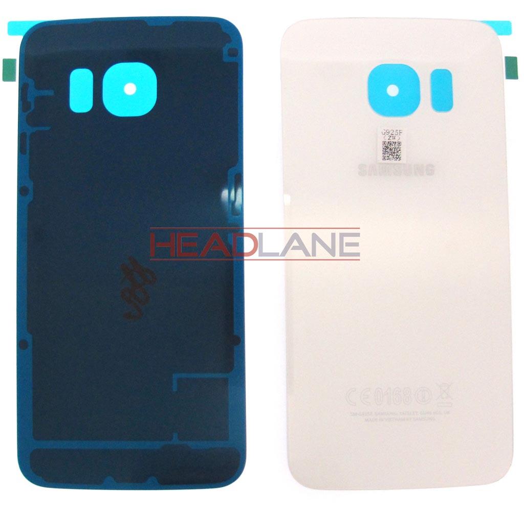 Samsung SM-G925 Galaxy S6 Edge Battery Cover - White