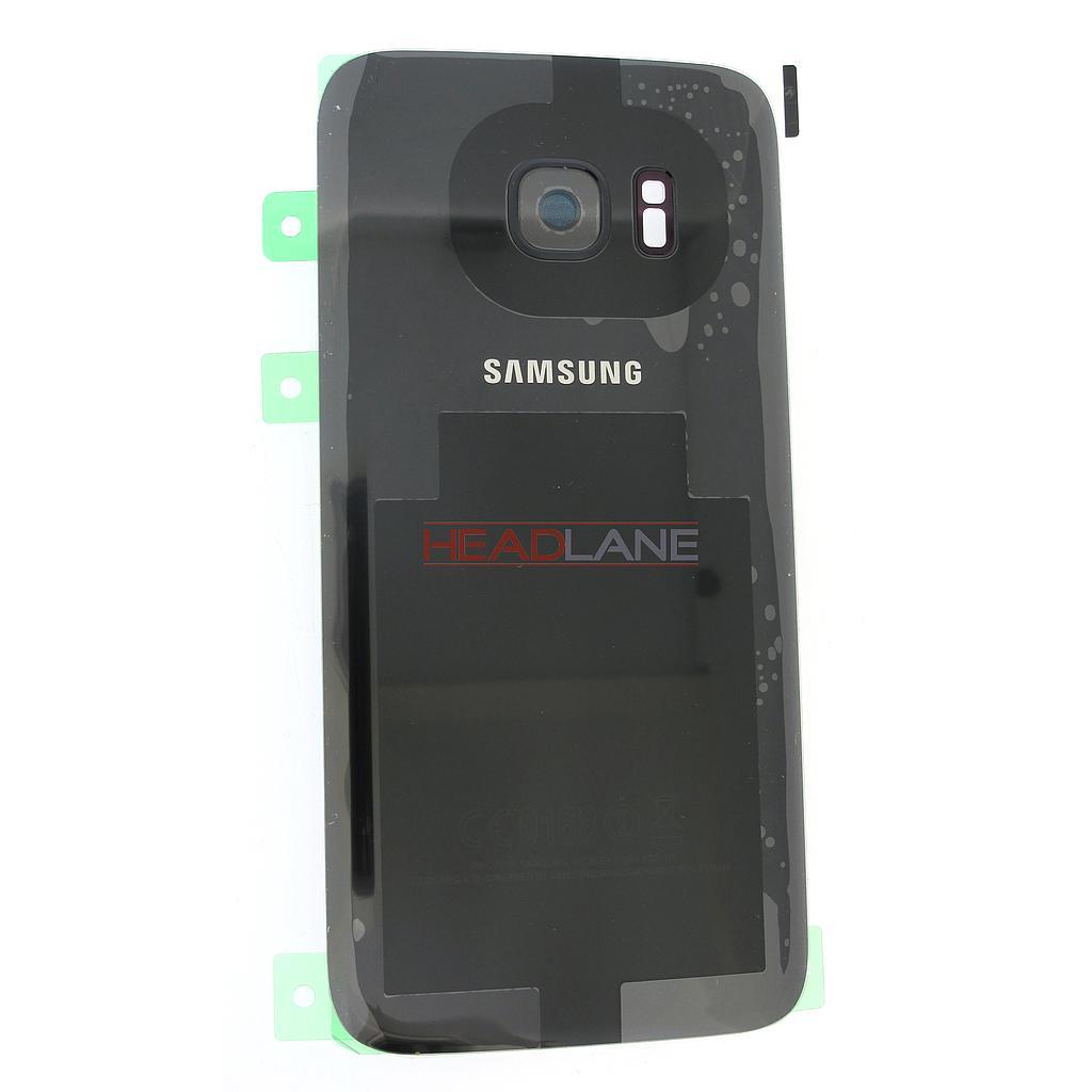 Samsung SM-G930F Galaxy S7 Battery Cover - Black
