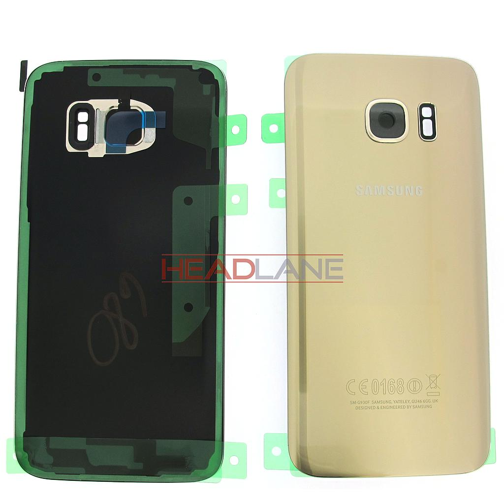 Samsung SM-G930F Galaxy S7 Battery Cover - Gold