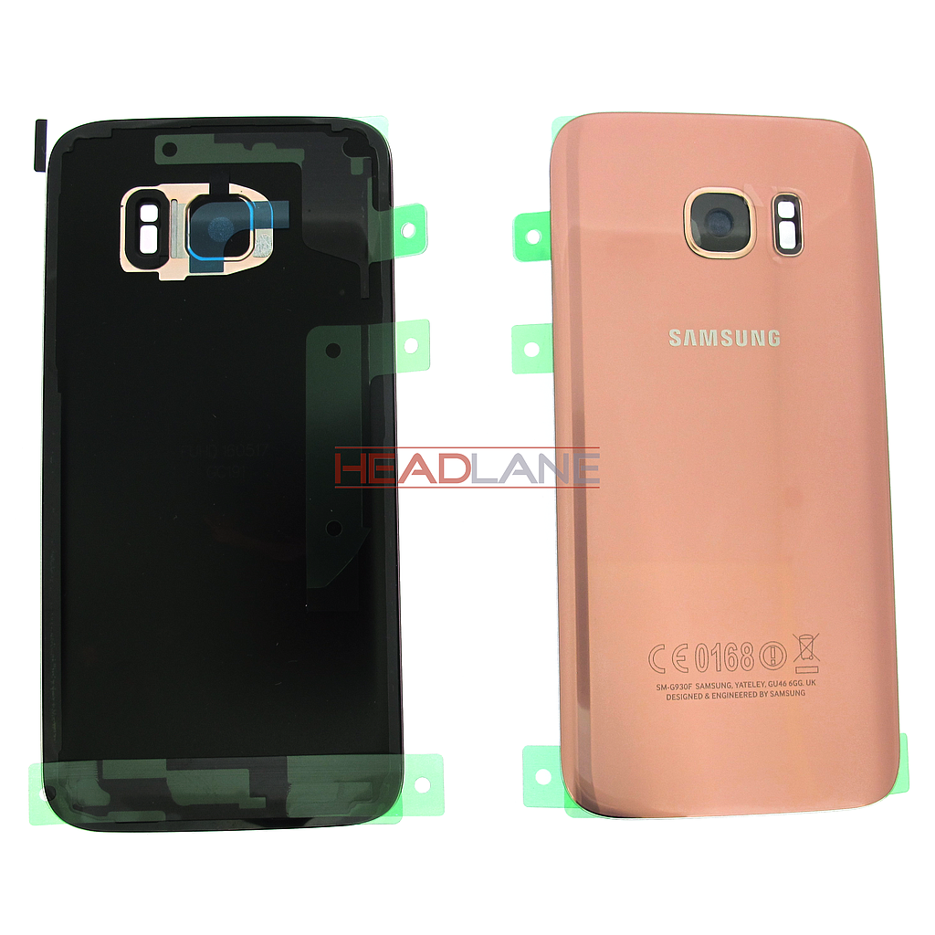 Samsung SM-G930F Galaxy S7 Battery Cover - Pink Gold